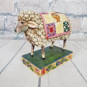 Jim Shore Peace in the Valley Sheep Figurine 2003